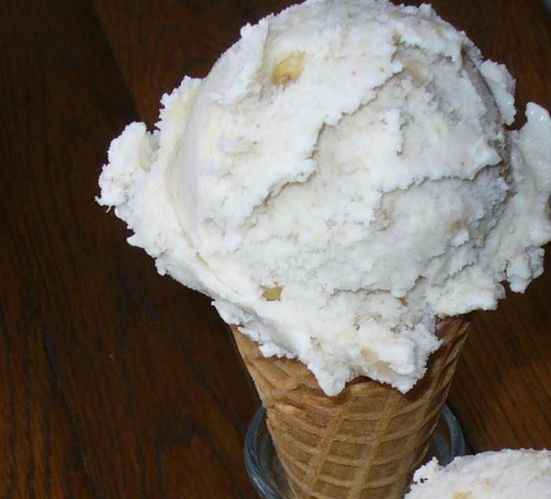Banana nut ice cream recipe