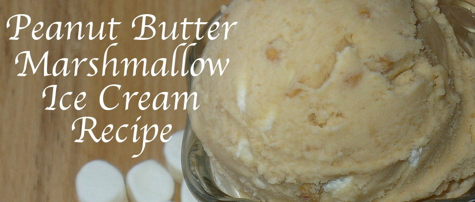peanut butter marshmallow ice cream recipe