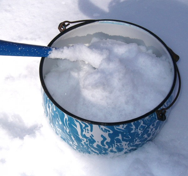 Bucket of Snow